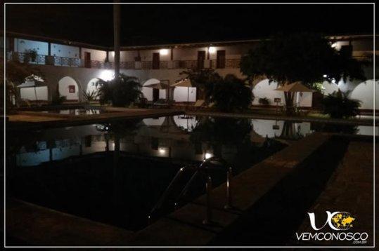 Hotel Líneas de Nazca, onde funciona o planetário