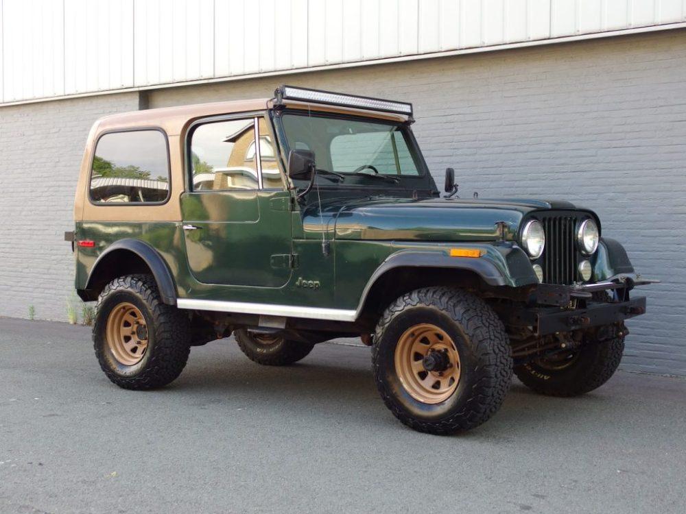medium resolution of jeep cj7 v8 1978 strong runner perfect body