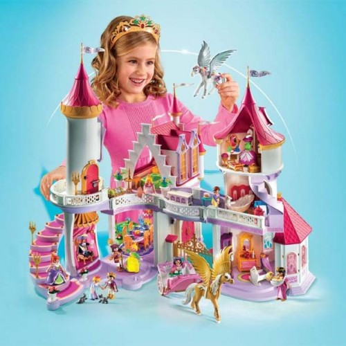 Chateaux Playmobil Princesse Playmobil Grand Chateau De Princesse Set Complet Compos De