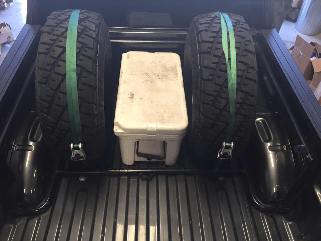 hight resolution of this is our bed rack for the 2015 ford f150 it can be configured many different ways to hold tires ice chests storage boxes jack