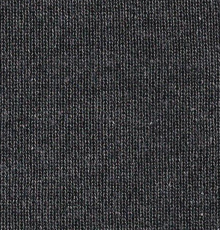 9653  Cotton Polyester 1 x 1 rib SMOKE charcoal grey marl