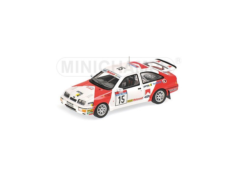 MODELLINO FORD SIERRA RS COSWORTH TOUR DE CORSE 1987