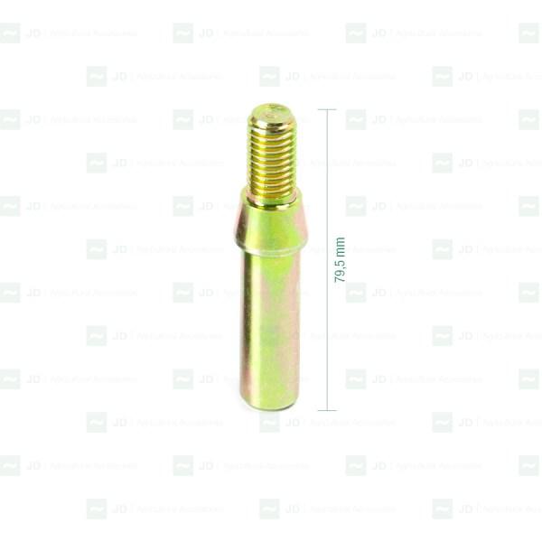 Tornillo M12 para silentblock PELL-SK01. Con baño anticorrosión