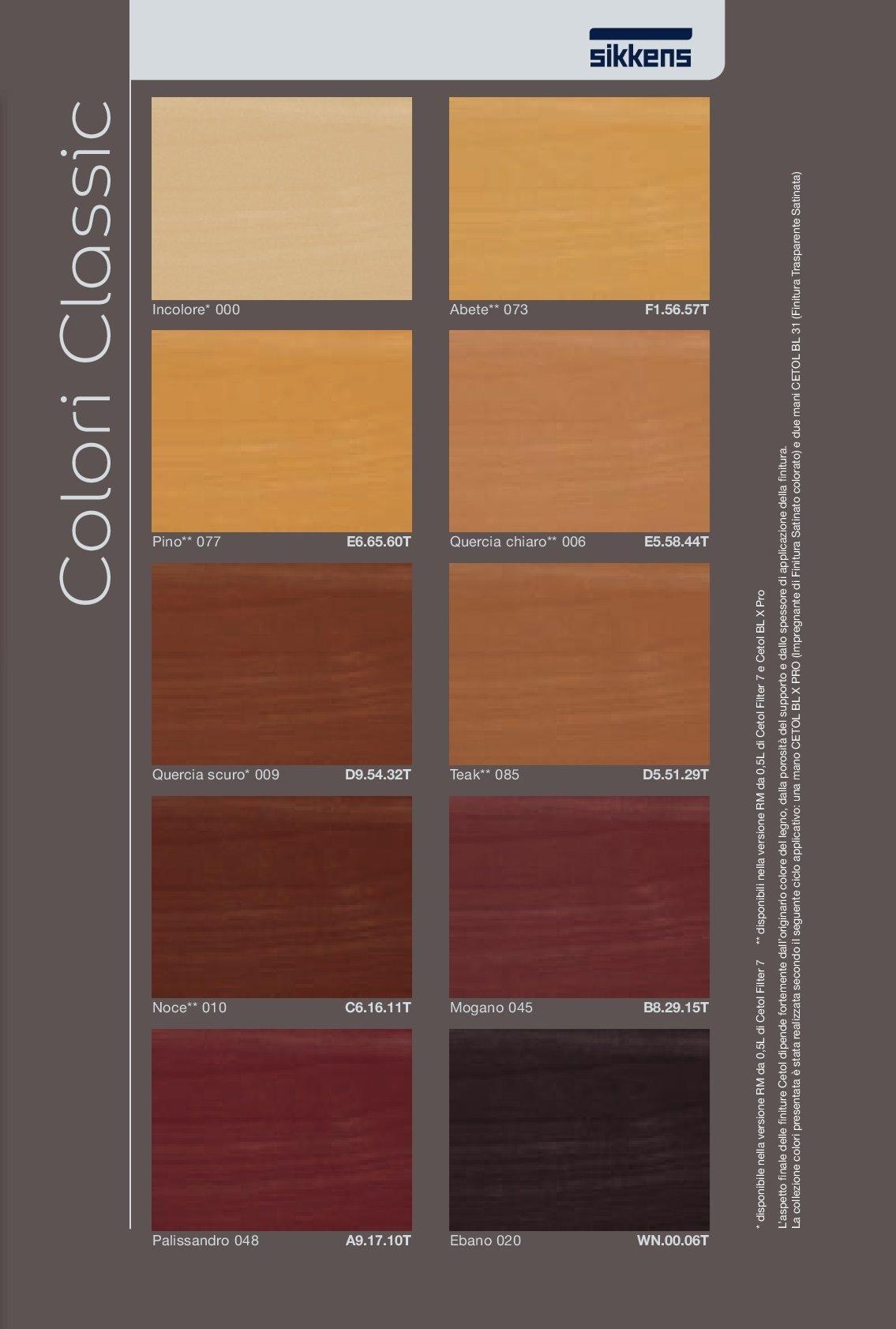 La collezione colori color design collection contiene 640 tinte. Cetol Blx Pro Sikkens Impregnante All Acqua Per Esterno Vendita Vernici Online