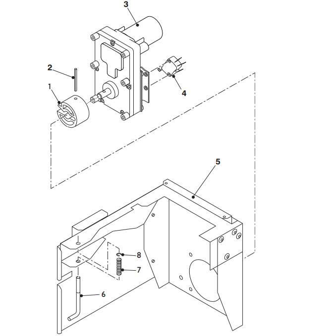 Brewer Motor Assembly