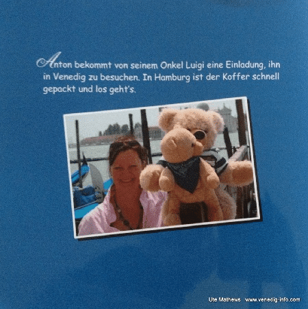 Ute Mathews-Werk. Mein Buch: Teddy in Venedig
