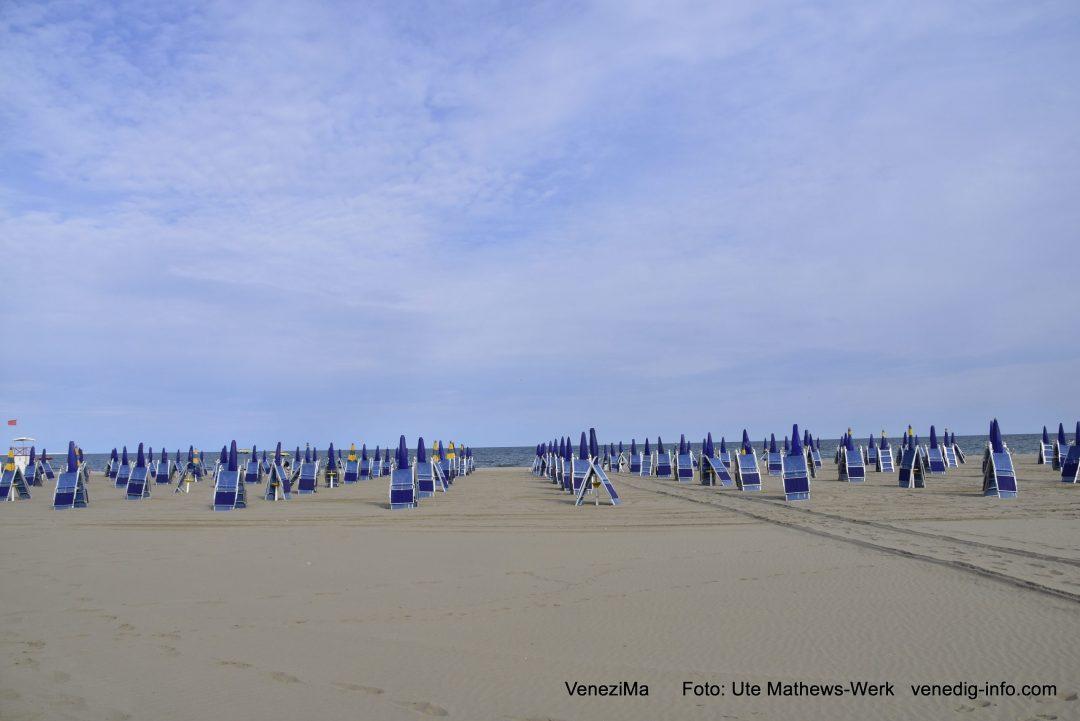 Venedig, Lido. Die Saison kann beginnen