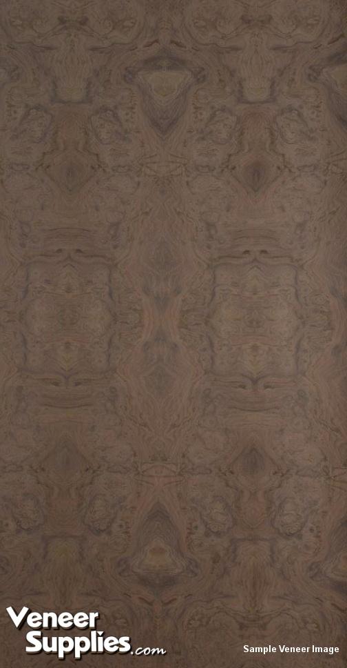 ash kitchen cabinets semi custom reviews paper-backed walnut burl veneer 4' x 8' - veneersupplies.com