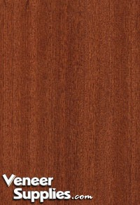 Paper Backed Sapele Veneer Quartersawn 4 X 8