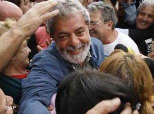 El apoyo del pueblo a Lula.
