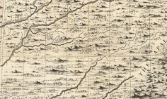 Bluegrass Map 1733, Henry Popple