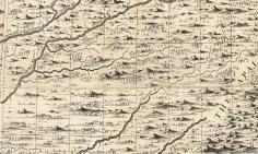 Bluegrass Map 1733, Henry Popple