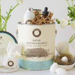 Bathe Nesting Bundle is Filled To The Brim with Timeless and Luxurious Baby Goods!