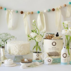 Baby Shower Essentials Nesting Bundle Complete with Custom Baby Shower Invitations and so Much More!