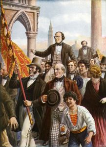 Daniele Manin and Niccolo Tommaseo freed from prison 18 March 1848