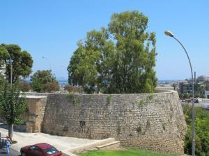 il famoso bastione San Giorgio, per chi ha letto la storia di Bragadin e dell'assedio