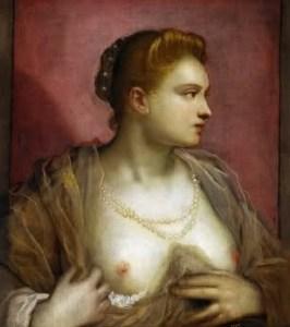 Veronica Franco in un ritrstto del Tintoretto