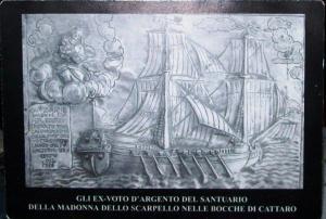 ex voto nella cattedrale di Corfù