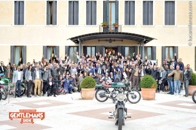 Treviso 2018, the Distinguished Gentleman's Ride