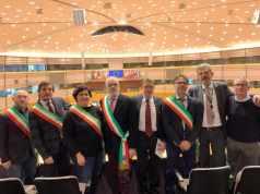 Il sindaco Polo in visita all'Unione Europea a Bruxelles da Zoffoli