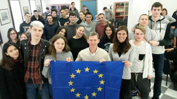 Una bandiera per l'Europa
