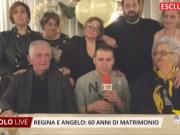 60 anni di nozze per Regina e Angelo