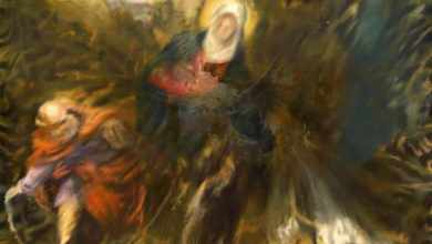 Jorge Pombo propone 7 nuovi dipinti dedicati a Tintoretto