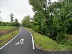 Inaugurata la nuova pista ciclabile di Via Altinia