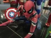 Mestre ospita i cosplayer degli Avengers