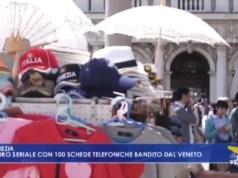 arrestato Ladro seriale con 100 schede telefoniche bandito dal Veneto