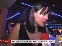 L'imitatrice Francesca Manzini a Jesolo