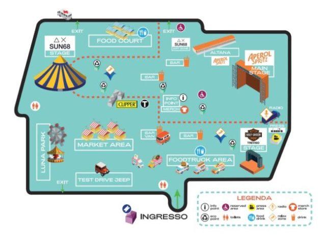 core festival treviso mappa 2019