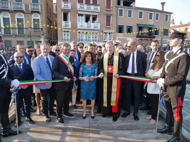 Festa del Redentore 2019: inaugurato il ponte votivo
