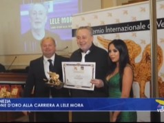 Lele Mora: leone d'oro alla carriera per l'imprenditoria