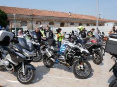 3° Motoraduno nazionale della Polizia: tappa a Venezia
