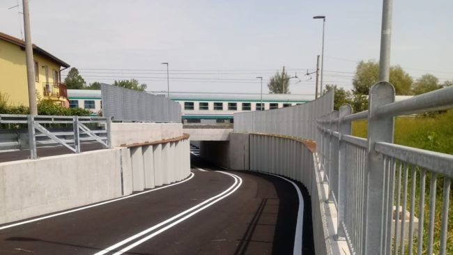 Portogruaro: inaugurato il nuovo sottopasso ferroviario