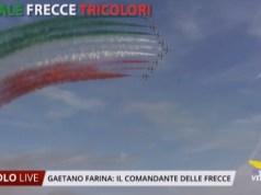 Frecce Tricolori intervista al comandante Gaetano Farina