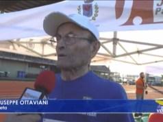 Giuseppe Ottaviani campione di 103 anni in gara all'EMAC