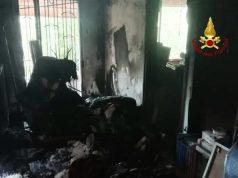 Spinea, appartamento divorato dalle fiamme