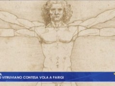 Uomo vitruviano di Leonardo, accordo Italia-Francia