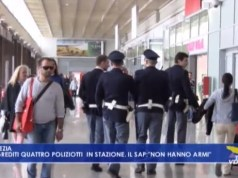 Aggrediti quattro agenti della polizia in stazione a Venezia