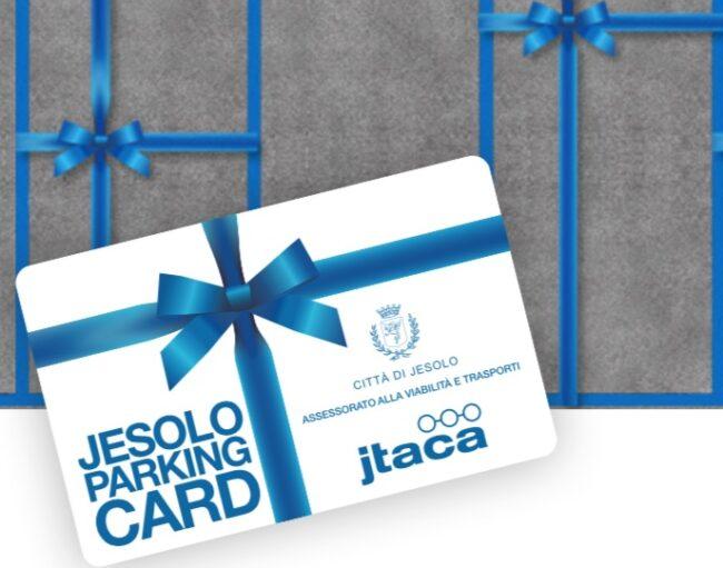 Jesolo Parking Card due tessere per nucleo familiare