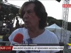 Maurizio Solieri al Remember Modena Park 2019