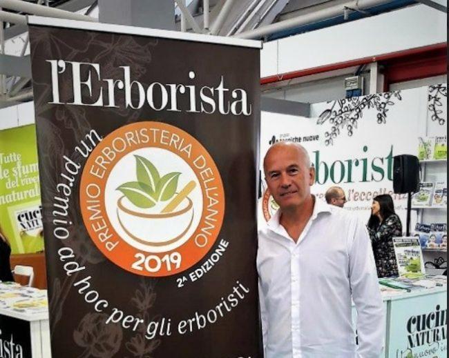 Livio Casagrande di Mirano, miglior erborista dell'anno - TeleVenezia
