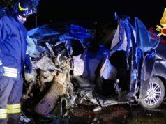 Portogruaro, auto contro un platano: muore il conducente