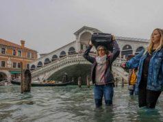Acqua alta a Venezia allerta da venerdì 8 novembre