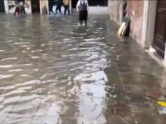 Acqua alta eccezionale: piani di emergenza a Venezia