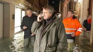 Acqua alta straordinaria: 14 novembre scuole chiuse a Venezia