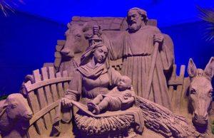 A Matera si è sollevato il velo su Jesolo Sand Nativity