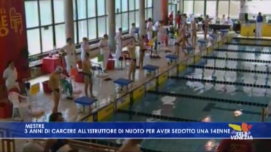 Photo of Istruttore di nuoto seduce 14enne: condannato a 3 anni